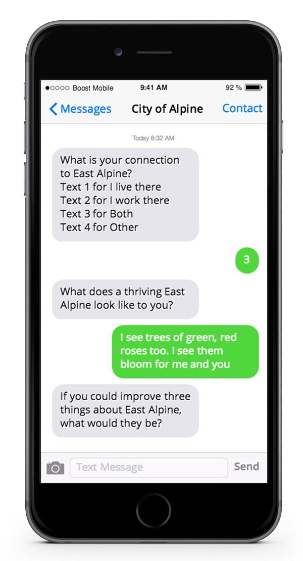 Did you get my text? – PublicInput com